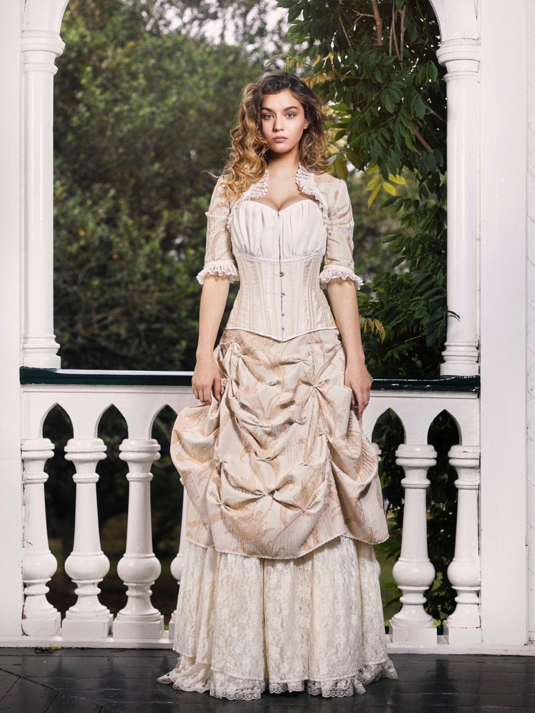 Sample Sale Victorian Wedding Dress Skirts and Bolero