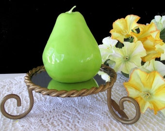 MIRROR DISPLAY STAND For Candles * Perfume * Figurines * Made In Mexico