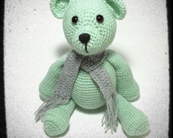 Chubby Bear Amigurumi Crochet PDF PATTERN