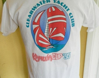 1995 Clearwater Yacht Club Race Kahlua vintage tee shirt - size large