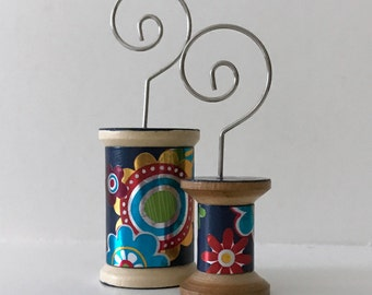 Flowers on Navy - Cool Spools