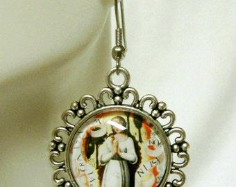 Immaculate conception of Mary earrings - AP06-110