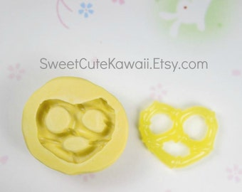 Pretzel Biscuit Cookie Mold for Resin Polymer Clay Soap Wax
