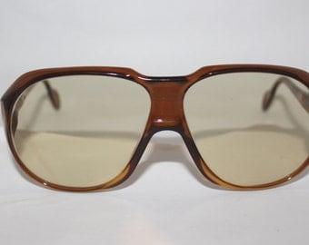 1970s Mens Zeiss Sunglasses /oversize lens /mint/Aviator style ,model 8065