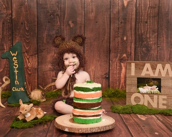 Bear Hat - Baby Bear Outfit - Baby Photo Prop - Newborn Bear Outfit - Newborn photo prop - Baby Bear Costume - Bear Clothes