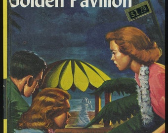 Vintage Nancy Drew The Secret of the Golden Pavilion, Carolyn Keene, Mystery Book, Girl Detective Series, 1950s