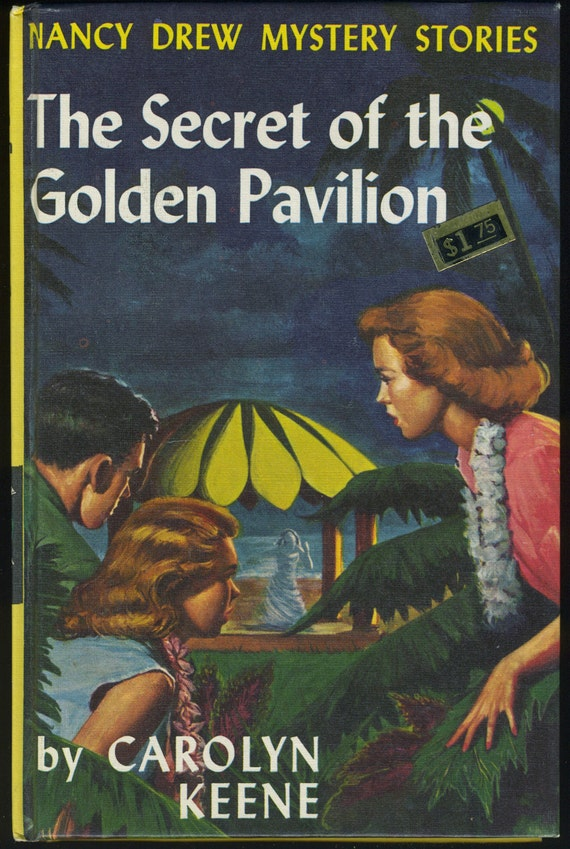 vintage nancy drew the secret of the golden pavilion carolyn. Black Bedroom Furniture Sets. Home Design Ideas