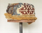 Asymmetrical Handmade Upcycled Hat, Tribal, Aztec