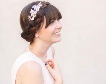 Triple Wildflower Headband - Gold, Silver, or Rose Gold Flower Headband, Crown, Boho, Halo, Bridal, Wedding Hair Accessories