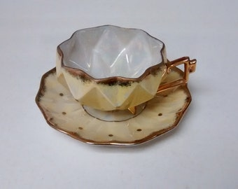 Royal Sealy 1950s Japanese cup and saucer