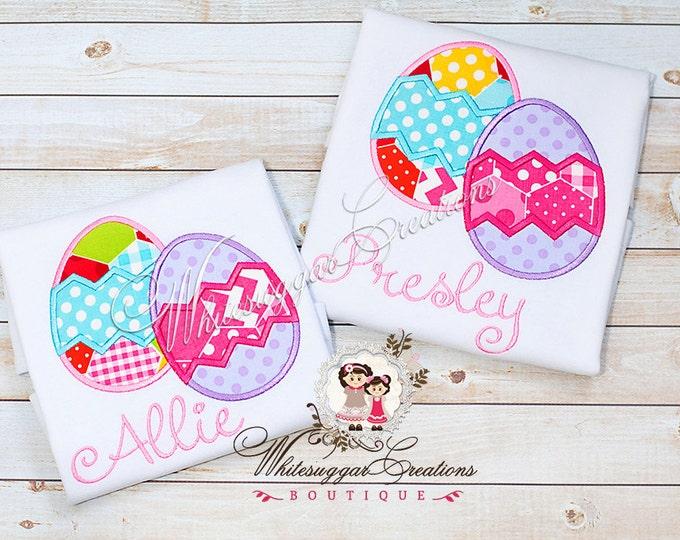 Girls Easter Shirt - Easter Egg-stra Cute Shirt - Personalized Easter Shirt, Eggs Shirt, Baby Girl Outfit, Easter Outfit, Baby Girl Outfit