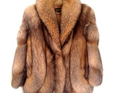 Fangorelli Red Fox Fur From Montecito Estate Finland Fox Fur Mid Thigh Length Preserved In Cold Storage Excellent Condition FREE SHIPPING
