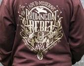 Firefly Hoodie - Serenity Sweatshirt - Browncoats Hoodie - I Aim To Misbehave Sweatshirt - Firefly Serenity Sweatshirt - Captain Mal