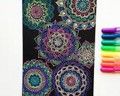 Sakura Gelly Roll MOONLIGHT Pen set | neon glow paint pens | archival & waterproof - great for vellum and black paper