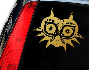 MAJORA'S MASK ZELDA Vinyl Decal Sticker - Laptop Decal - Laptop Sticker - Car Sticker - Car Decal