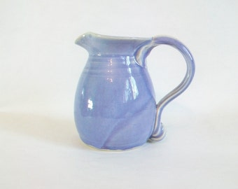 PurplePitcher - 14 ounce --  Handmade on the Potters Wheel - Mothers Day Gift