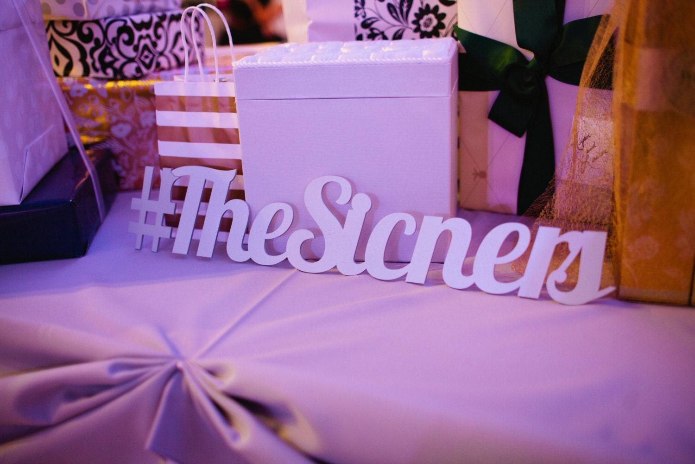 Wedding hashtag sign personalized photo prop or wedding decor for Decor hashtags
