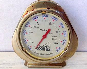 Vintage Good Cook Oven Thermometer / Retro Kitchen
