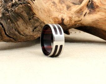 Kingwood and Cobalt Ring