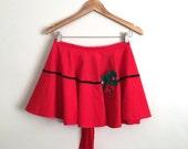 Ruby Red Handmade Vintage Apron