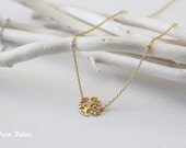Magic Tree Necklace in Silver/ Gold. Collar Bone Necklace. Garden. Botanical. Dainty and Subtle. Gift For Her (PNL-109)