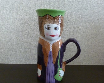 Vintage Whimsical Coffee Mug by Ganz - JENNY JAVA from the Susan Paley Bella Casa Collection