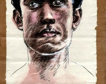 original illustration - face 6