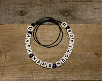 Custom Hash Name Necklace
