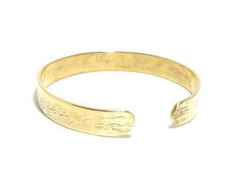 Brass Bracelet, Cuff, Women, Men, Ready To Ship, Metalwork, Bangle BLB 65