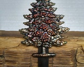 Christmas Tree Stocking Hanger,Holder-Forged Iron-Weighs 2 1/2 lbs.