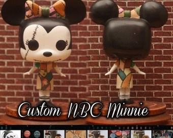 NBC Minnie - Custom Funko pop toy