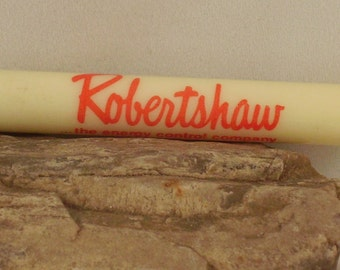 Pocket Screwdriver! Signed Ready Tool Brand! Flat Head Screwdriver! Advertising & Promotional For Robertshaw! Free Shipping! On Sale Now!