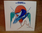 The Eagles - Eagles on the Border - 1974 Vintage Vinyl Record Album...Includes Poster