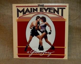 THE MAIN EVENT - Original Motion Picture Soundtrack - 1979 Vintage vinyl Record Album
