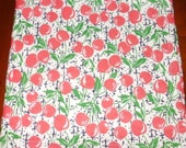 Lunch Napkins...Soft Cotton...Cherries...14 inches...FREE SHIPPING