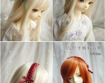 Kint Ribbon Hair Band for BJD SD and MSD/YoSD Dolls 13 Colors Available