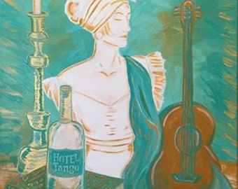 Giclee reproduction print of original painting