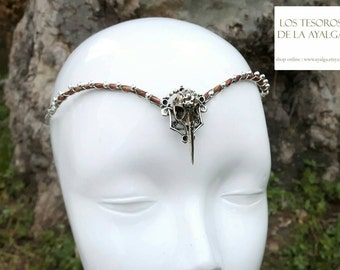 Raven chain headpiece