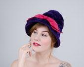 50% OFF SALE / 1960s vintage hat / cloche / Pierre Balmain