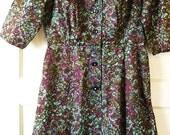 Vintage Cocktail Dress,Hollywood Regency Dress, sz 14