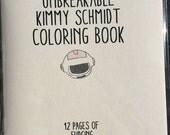 Unbreakable Kimmy Schmidt Coloring Book
