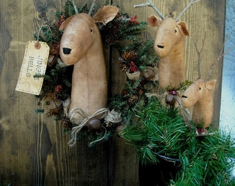 Christmas Reindeer Ornaments E Pattern