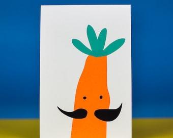 postcard Carrot
