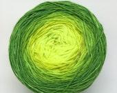 Lemon Lyman gradient sock yarn