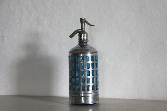 Bottiglia di vetro acidato antico francese seltzer di for Bottiglia in francese