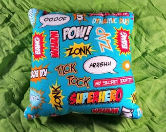 Super Hero, Tooth Fairy Pillow, Pillow, Words