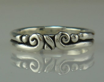 Sterling Silver Band- One of a Kind