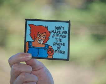 Lion-O Patch Thundercats ® Thundercat ® Patch cat for girlfriend boyfriend embroidered birthday gift coworker stocking stuffer cartoon 80s