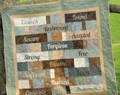 Covered in Truth quilt pattern with Bible Study (Digital PDF Version)