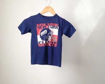 vintage 80s New York GIANTS football kids soft t-shirt